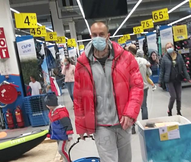 Риалити герой на шопинг