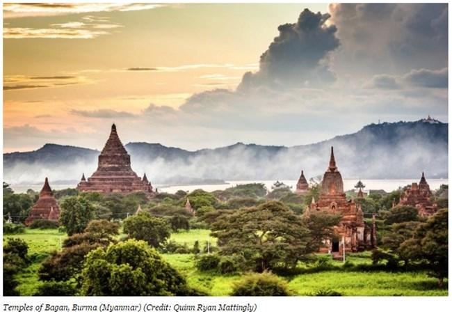 Храмовете на Баган, Бирма (Мианмар) Снимка: forbes.com