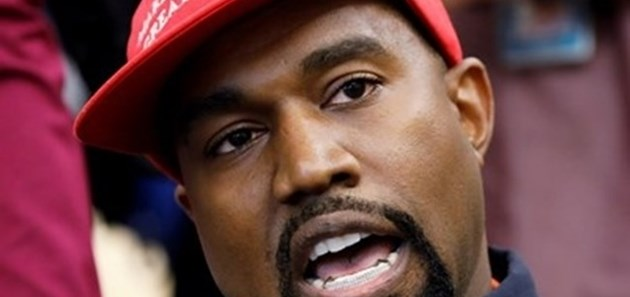 """""""Туитър"""" блокира Кание Уест заради видео как уринира върху статуетките си """"Грами"""""""