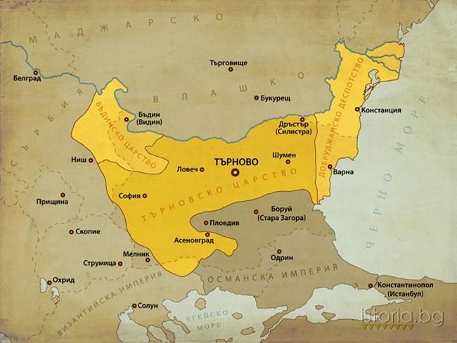 България при управлението на Иван Александър.