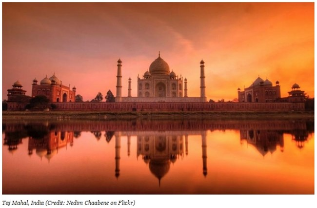 Тадж Махал, Индия Снимка: forbes.com