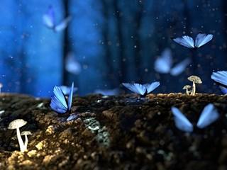 Легенда за синята пеперуда - есенцията на живота