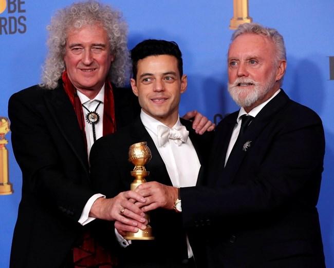 """""""Бохемска рапсодия"""" спечели две награди """"Златен глобус"""", включително и за най-добър филм. СНИМКА: РОЙТЕРС"""