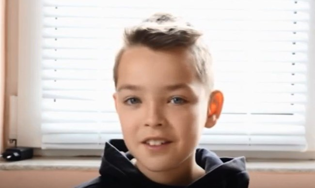 10-годишният Божидар от Добрич