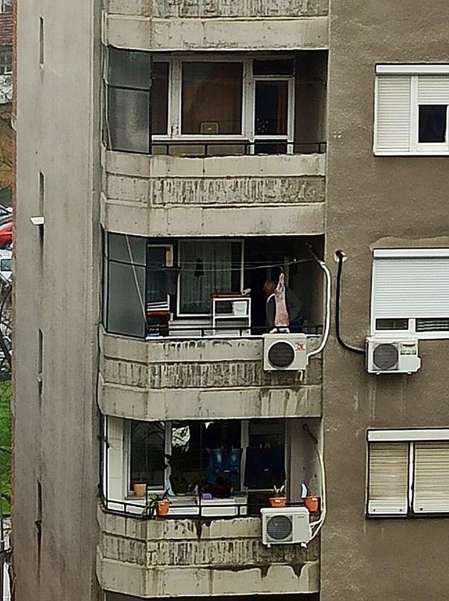По гергьовски на балкона