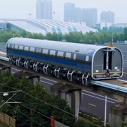 Китай тества влак, развиващ скорост от 600 км/ч (Видео)