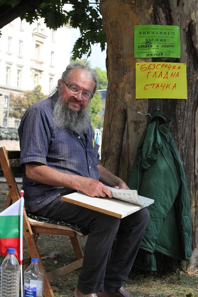 Николай Колев-Босия: Ще гладувам до смърт срещу Радев!