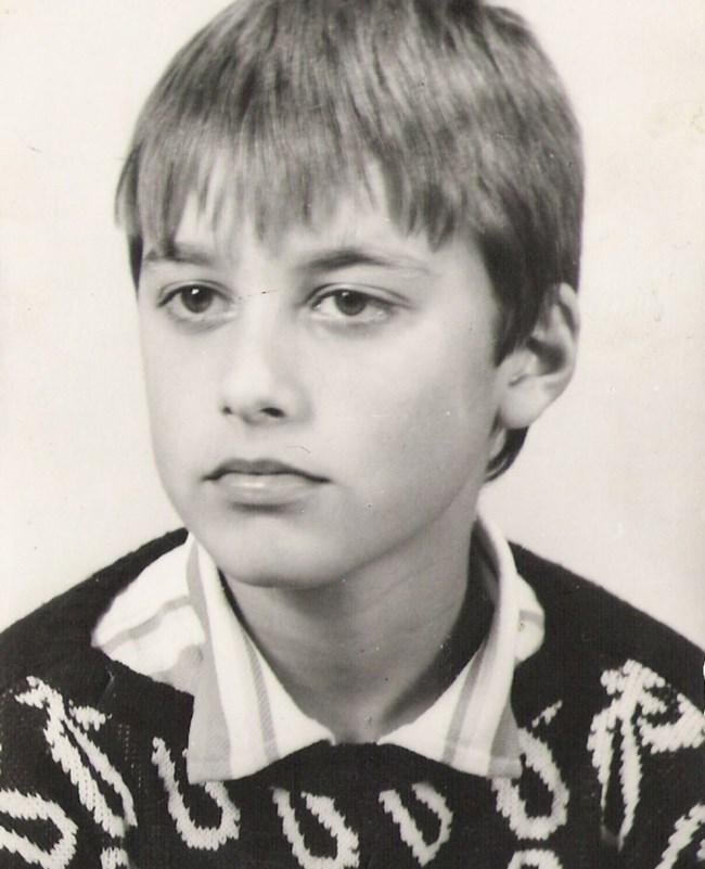 Детските черти на талантливия актьор Владо Карамазов са се запазили и досега.