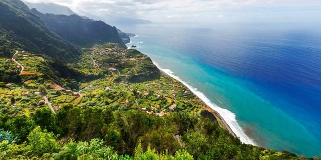 Крайбрежието на остров Мадейра