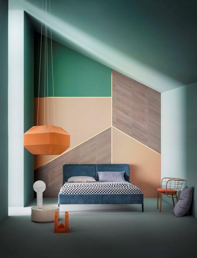 Геометричните форми карат дома да изглежда подреден.
