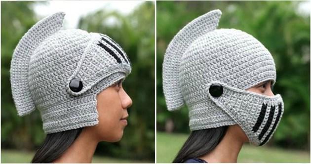 Плетен шлем срещу ковид