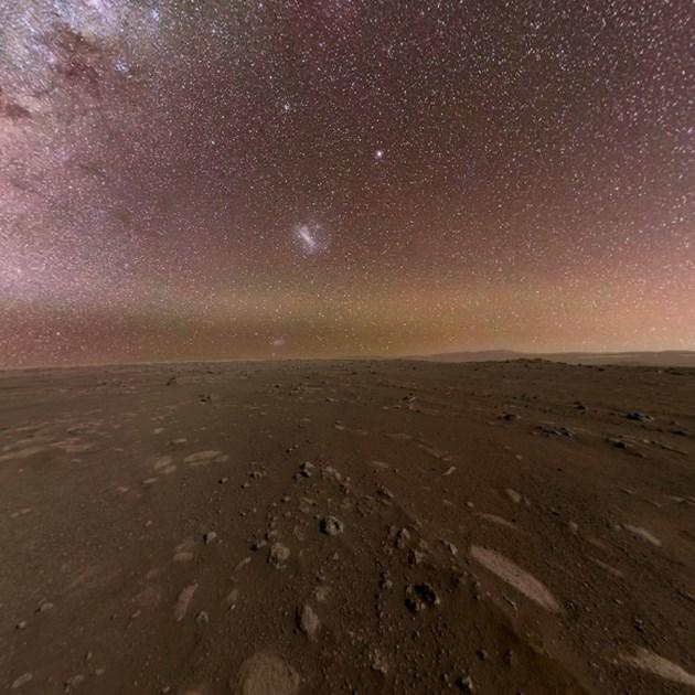 Зрелищна панорамна снимка, направена от Пърси на Марс (Видео)