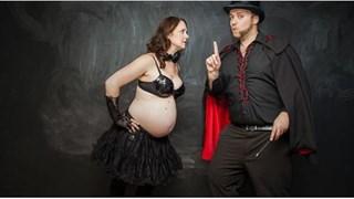 Бременността - нежна, очакваща и забавна (галерия)