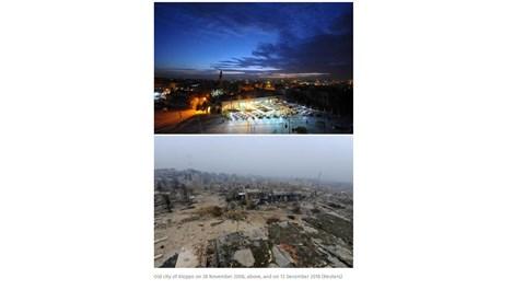 Алепо преди и след войната (Галерия)