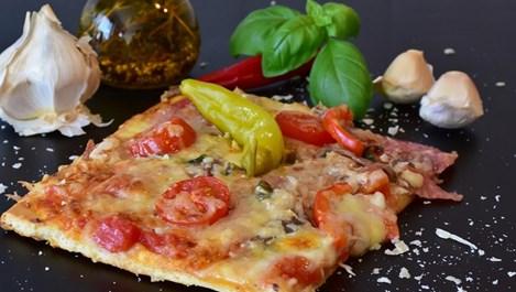 Пица с шунка и сирена