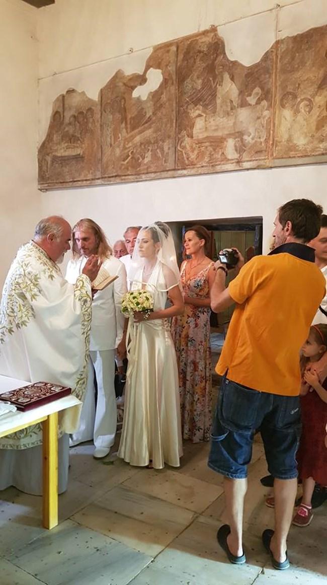 Снимка от венчавката