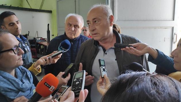 Инж-Ваньо Славеев - изп.директор на Агенцията за борба с градушките