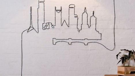 Красиви идеи за скриване на кабелите вкъщи (галерия)