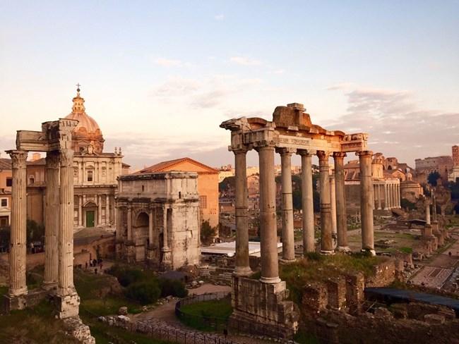 Останките на Древния Рим в италианската столица СНИМКИ: АВТОРЪТ И АРХИВ