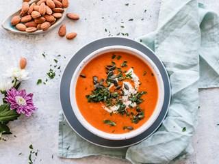 Тиквена супа с кокосово мляко и джинджифил