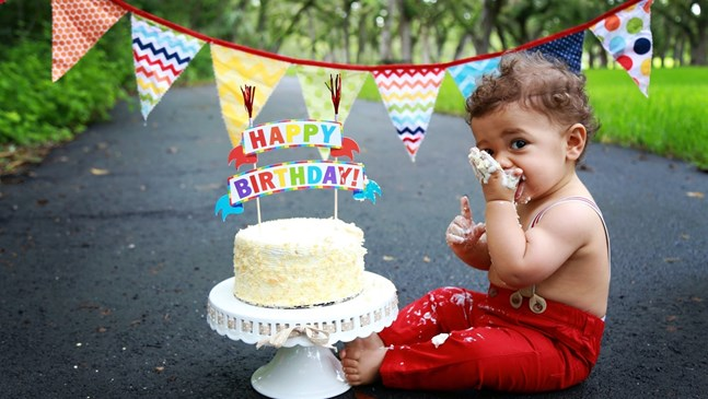 Наръчник за организиране на първия рожден ден