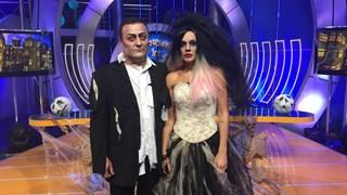 Мария Игнатова и Димитър Рачков вампири на Хелоуин (Снимки)