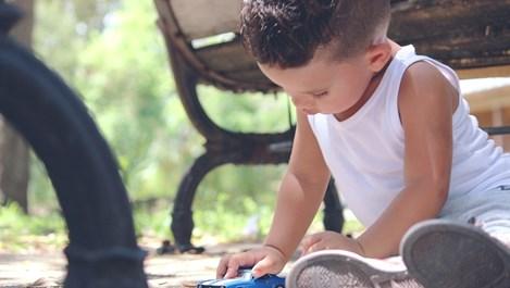 Лесни игри за физическа активност на детето у дома