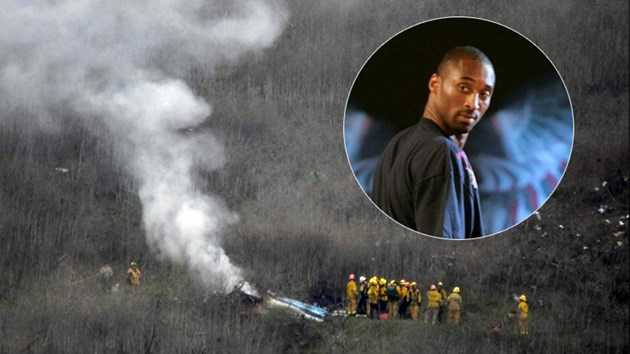 Снимки и видео от катастрофата на  хеликоптера, в който загина Кобе Брайънт