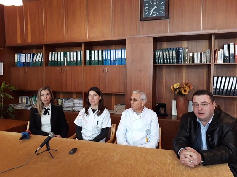 Кметът Генчо Генчев на среща с лекари специалисти от Свищовската болница
