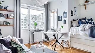 Нестандартни идеи за малкото жилище (галерия)