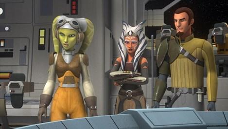 """Предстои премиерата на дългоочаквания втори сезон на """"Междузвездни  войни: Бунтовниците"""""""