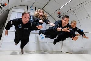 Четиримата участници са се подготвяли сериозно за мисията пет месеца.