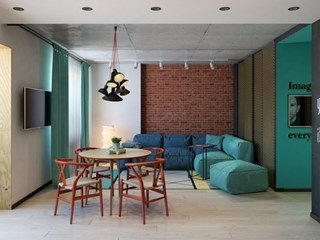 Интериорни идеи за средно голямо жилище (галерия)
