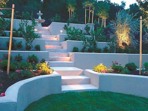 Градина на хълм