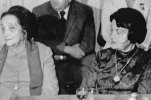 Дора Габе и Елисавета Багряна