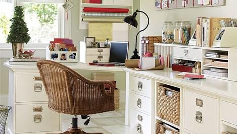 Идеи за малък спретнат офис у дома (галерия)