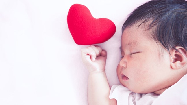 Писмо за Свети Валентин до моето бебе