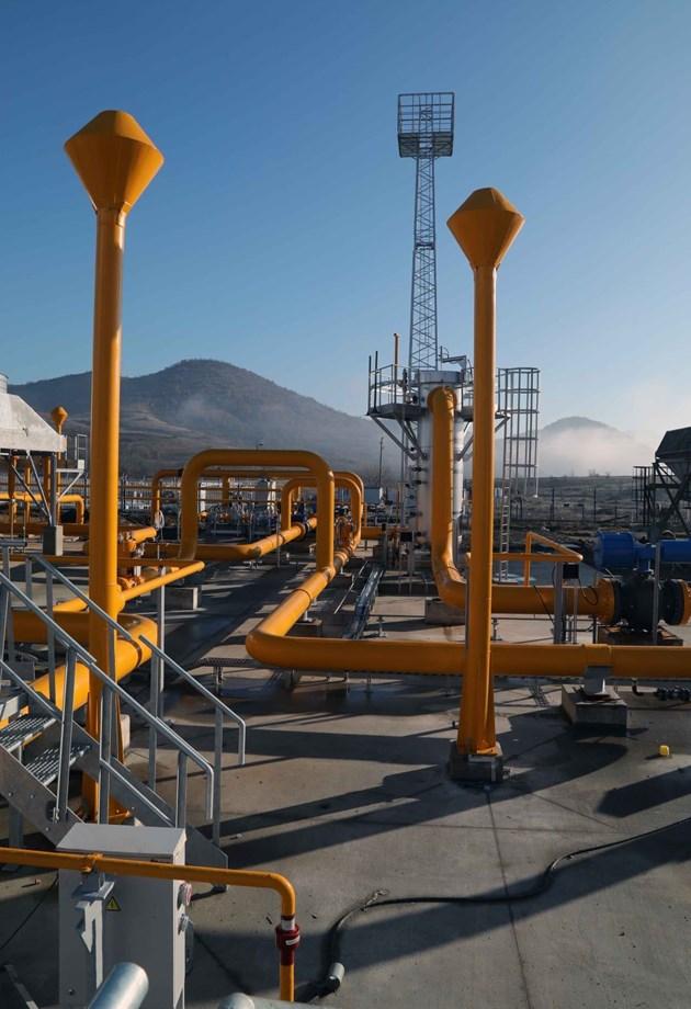 Нов рекорд в цената на газа в Европа - 65,5 евро за мегаватчас или 800,2 долара за 1000 куб м