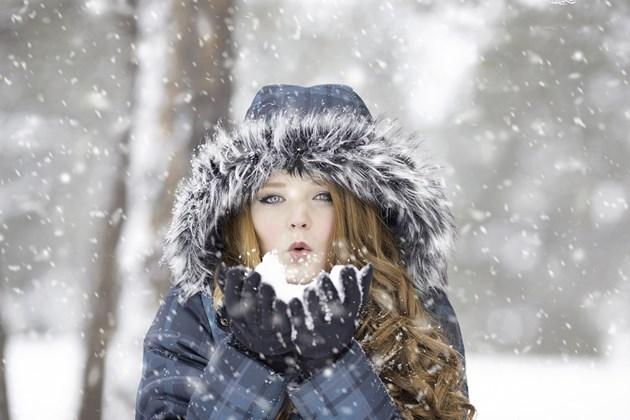 Първият сняг - слаб и за кратко
