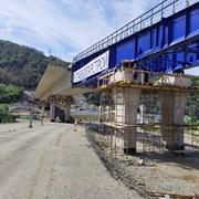 """С уникална технология строят моста на Струма преди тунела """"Железница"""""""