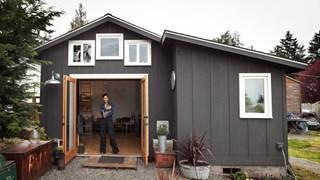 Как да превърнем гараж в дом от 23 кв. м (галерия)