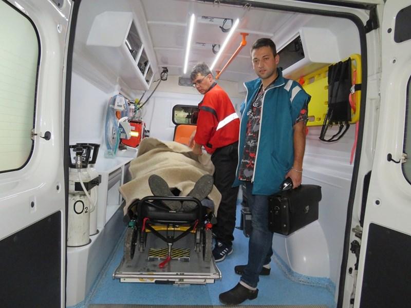 Д-р Йорданов в линейката