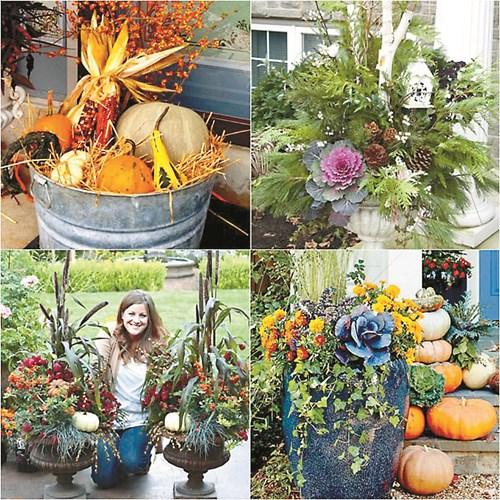 Есен на балкона - украсете със стил