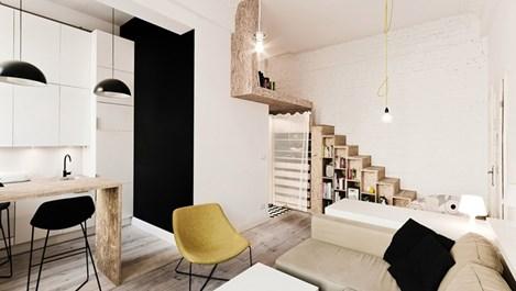 Апартамент от 80 кв. м се превърна в 4 малки жилища (галерия)