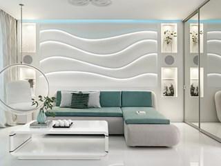 Бял чар в жилището (галерия)
