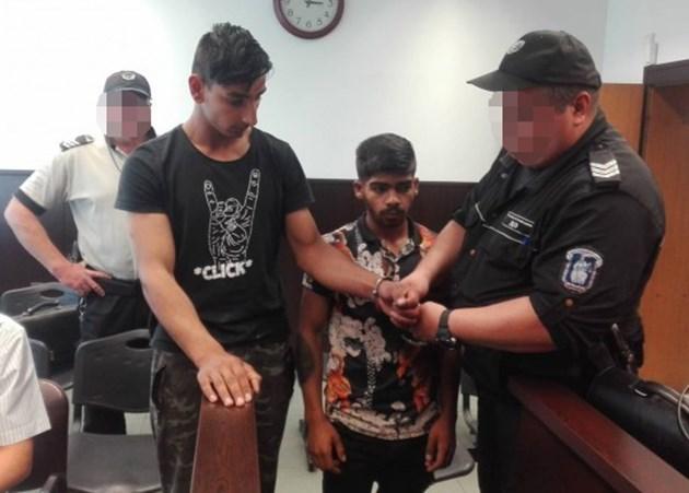 Исмаил Асан и Митко Асенов в съда