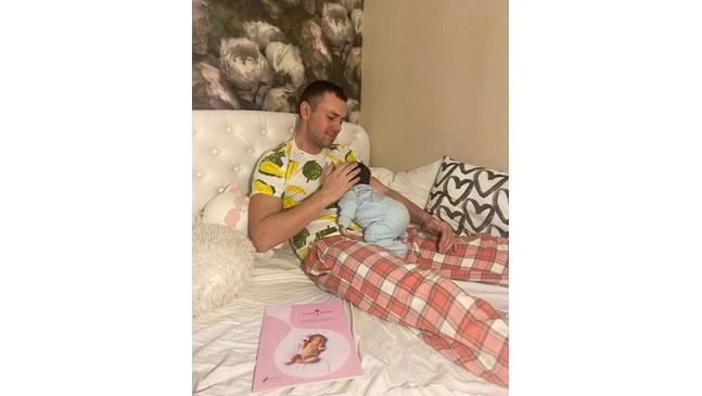 Ицо Хазарта показа бебето