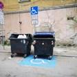Кофи за смет блокират инвалидно място