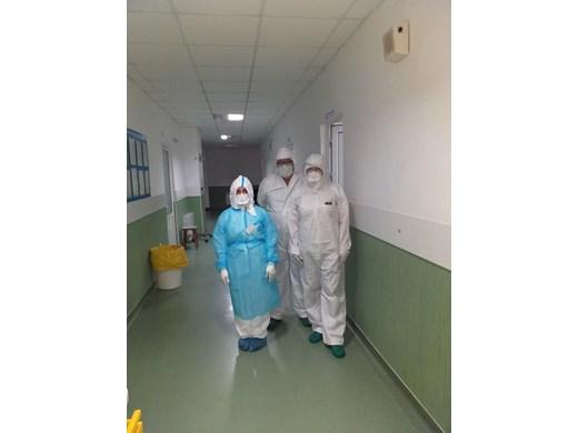 Пациент с усложнения на кислородна терапия в Бургас