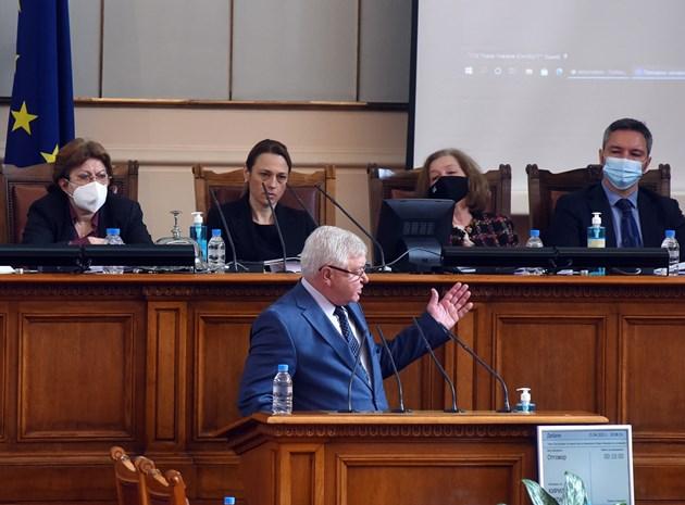 Ананиев: В края на април почти няма да има дефицит в бюджета (Обзор)